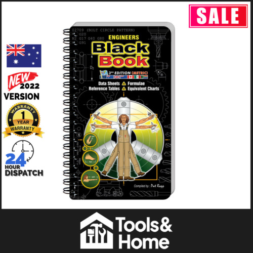 Engineers Black Book 3Rd Edition (Metric) By Rapp Pat - Laminated Grease Proof