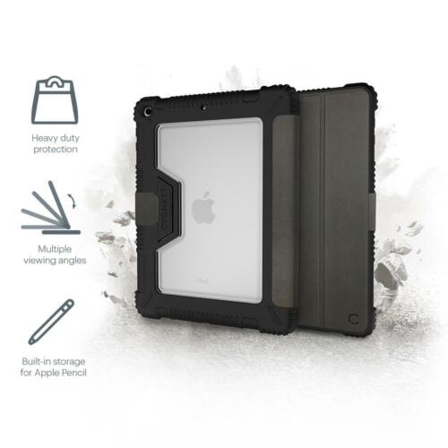 "Cygnett Workmate Evolution iPad 10.2"" Case in Black/Charcoal 