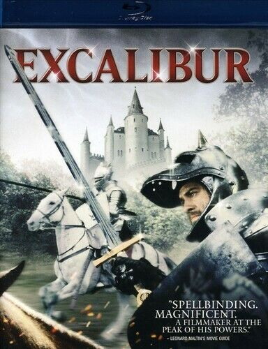 EXCALIBUR NEW BLURAY
