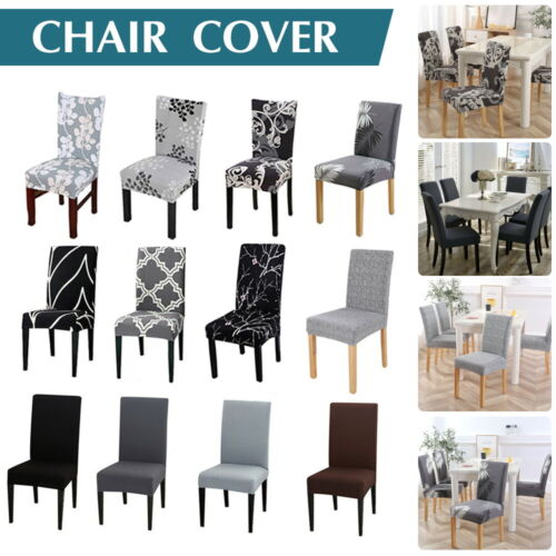 Stretch Dining Chair Covers Slipcover Spandex Wedding Cover 1/4/6/8Pcs Removable <br/> New Style & Material Arrival,High Quality