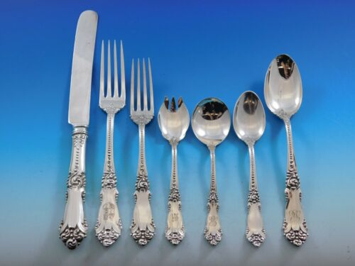La Marquise by Reed & Barton Sterling Silver Flatware Set Service 66 pcs Dinner
