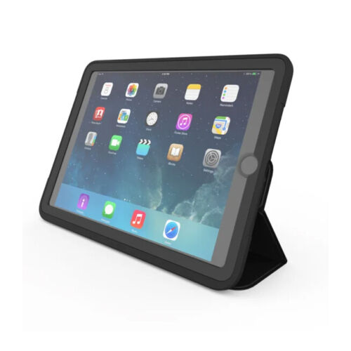 Zagg Rugged Drop Proof Messenger Case w/Stand For Apple iPad 10.2 Charcoal