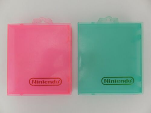 2 x NES Nintendo Game Cartridge Plastic Cases