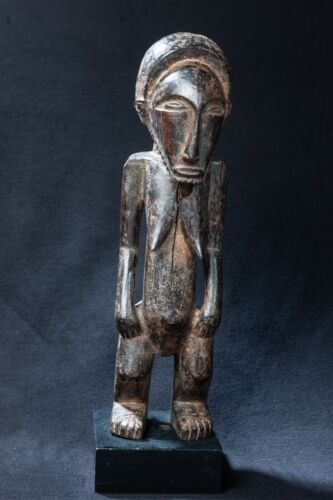 Bembe Female Ancestor Statue, D.R. Congo, Zambia, Central African Tribal Art