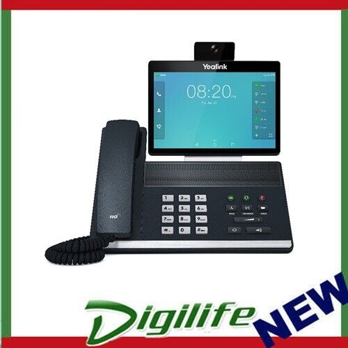 """Yealink SIP-VP59 16 Line IP Full-HD Video Phone, 8"""" 1280 x 800 colour touch scre"""