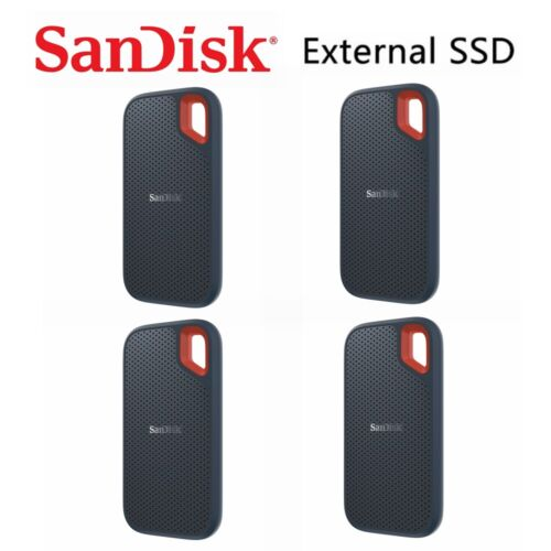 SSD SanDisk Extreme 250G 500G 1T Portable External Solid State Drive USB Type-C