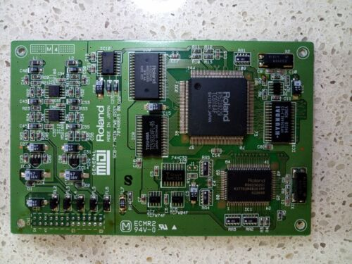 Roland SCB-7 Wavetable Daughter Board - 128 tones, 4MB, GM & MT-32 Compatible