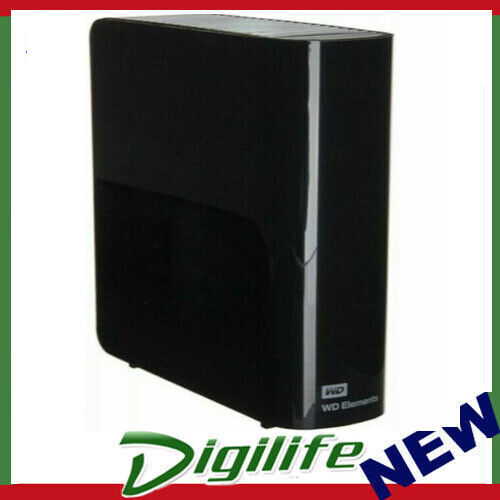 "Western Digital WD Elements Desktop 6TB USB 3.0 3.5"" External Hard Drive"