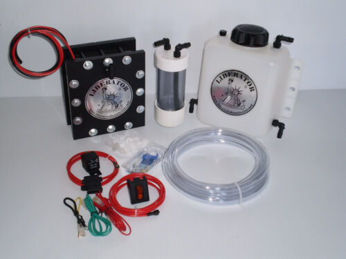 25 PLATE HHO HYDROGEN GENERATOR SEALED DRY CELL KIT LARGE. WATCH VIDEO