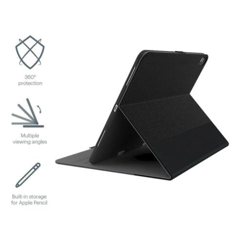 NEW Cygnett TekView with Apple pencil holder for iPad Pro 11 Grey/Black (2019)