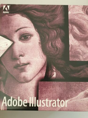 Adobe Illustrator Software ***Vintage Collectable*** Good Condition***