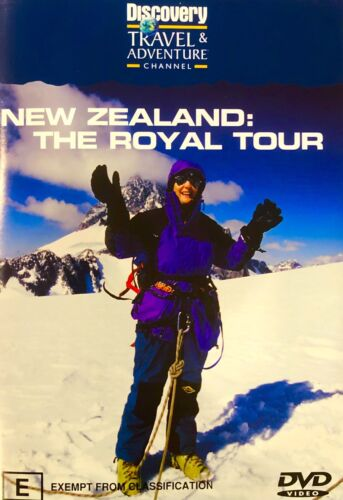 12🆕sealed-New Zealand: The Royal Tour  - DVD - Region 4