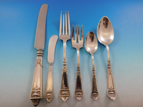 Lansdowne by Gorham Sterling Silver Flatware Set for 12 Service 80 Pieces Dinner