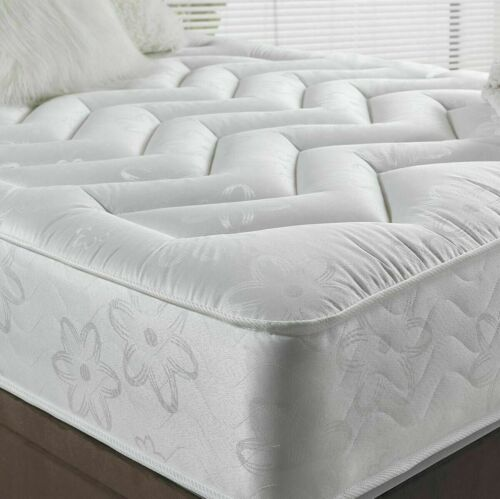 """10"""" DEEP QUILTED ORTHOPEDIC SPRUNG MATTRESS 3FT 4FT 4FT6 DOUBLE 5FT KING UK <br/> CHEAPEST IN THE UK-PRICES SLASHED FOR LIMITED TIME ONLY"""