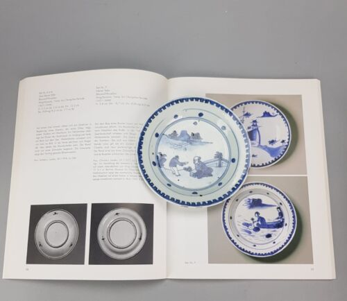 Antique Chinese 17th C Porcelain Ming/Transitional Plate Blue Wanli Tianqi China