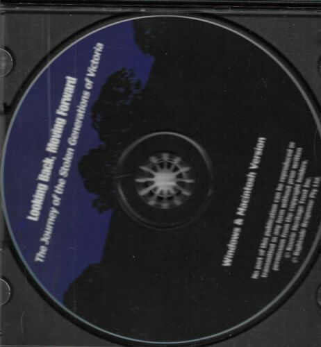 CD ROM- Looking Back, Moving Forward - The Journey of Stolen Generations of VIC