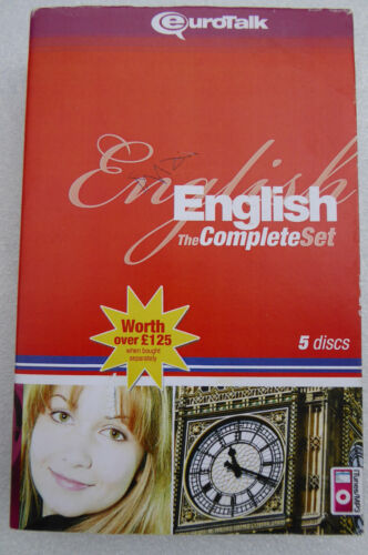 Eurotalk Learn English The Complete Set