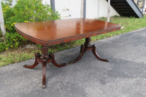 Mahogany Dining Table by White Furniture 1696