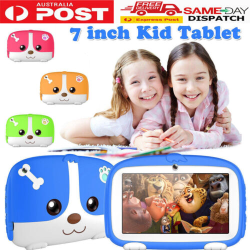 7 INCH ANDROID 4.4 TABLET QUAD CORE 8GB Camera & WIFI for Kids Children AU 2021