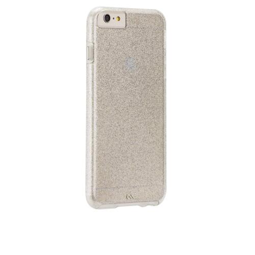 Case-MATE iPhone 6S+ 6+ Plus Naked Tough Sheer Glam Double Layer Case Cover