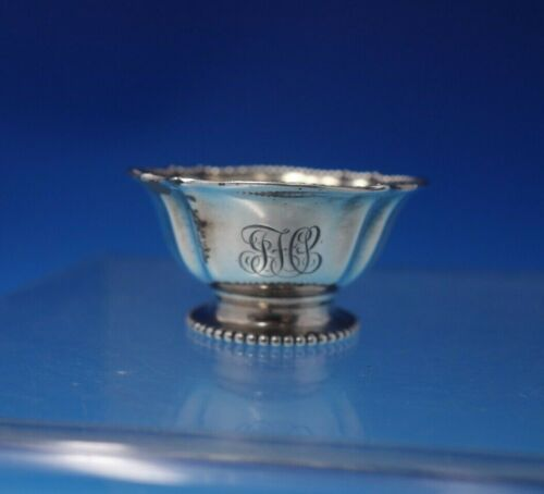 San Lorenzo by Tiffany and Co Sterling Silver Salt Dip Gold Wash #13527 (#3164)
