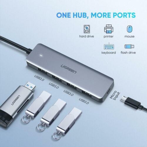 USB C to USB 3.0 HIGH SPEED 5 Port Compatible Universal expansion adapter Hub
