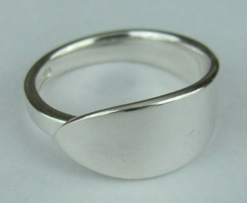Sterling Silver Spoon Ring - Tiffany / Faneuil - size 7 1/2 (7 to 8) - c. 1910