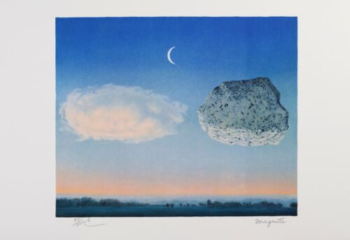 Rene Magritte - The Battle of the Argonne (lithograph, plate-signed & numbered)