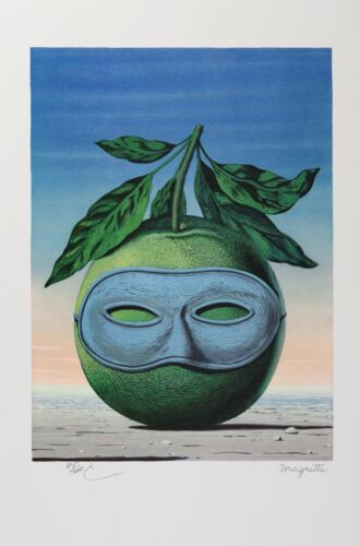 Rene Magritte - Memory of a Voyage (lithograph, plate-signed & numbered)