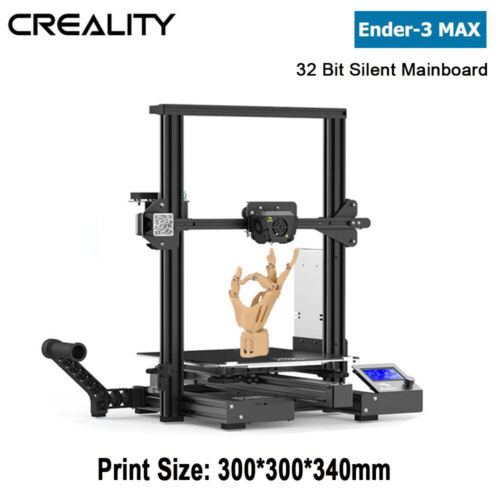 Creality Ender-3 MAX 3D Printer 300x300x340mm Silent Mainboard Dual Cooling Fans