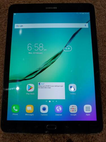 Samsung Galaxy Tab S2 SM-T815Y 32GB, Wi-Fi+Cellular LTE, 9.7in tablet black