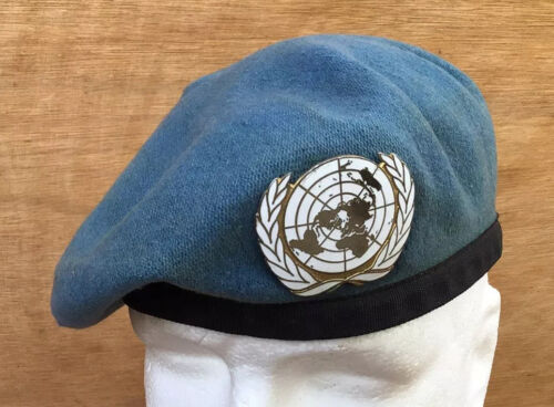 Original Used United Nations BeretOther Eras, Wars - 135