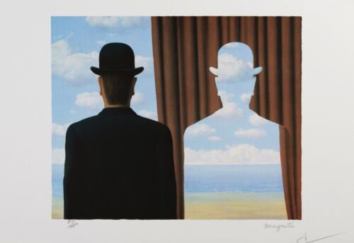 Rene Magritte - Decalcomania (lithograph, plate-signed & numbered)
