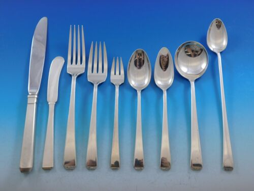 Craftsman by Towle Sterling Silver Flatware Set for 8 Service 82 pieces