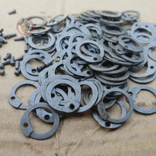 Flat riveted mail rings x 100Other Eras, Wars - 135