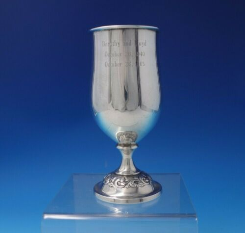"Old Master by Towle Sterling Silver Water Goblet #268 5 3/4"" x 2 1/2"" (#5125)"