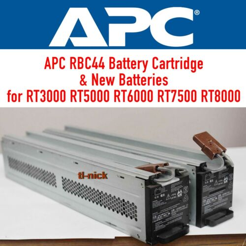 OEM APC Replacement Battery Pack RBC44 UPS RT3000 RT5000 RT8000 RT10000 1-yr wty