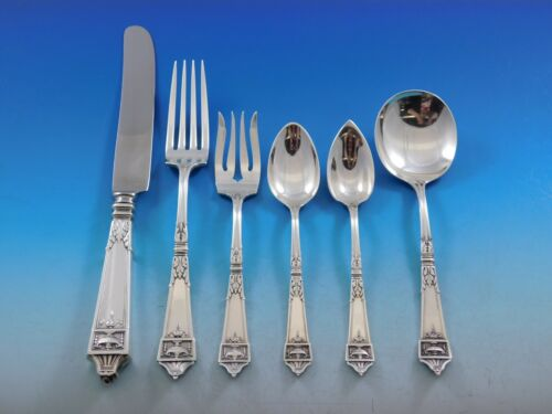 Lansdowne by Gorham Sterling Silver Flatware Set for 12 Service 72 Pieces Dinner
