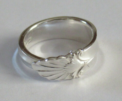 Sterling Silver Spoon Ring - 1932 International / Empress - FREE 1 DAY SHIPPING