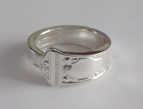 Sterling Silver Spoon Ring - 1916 Tiffany / San Lorenzo - FREE 1 DAY SHIPPING