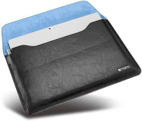 MR-MS3306 Maroo Premium Black Leather Sleeve for Surface Pro 6/5/4/3 - RRP $93