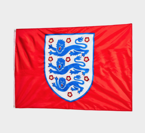 ENGLAND FLAG - 5X3FT - EURO 2021 - FREE DELIVERY & SAME-DAY DISPATCH <br/> Euro 2021 England Football Team Merchandise