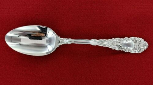 """Dominick & Haff 1894 Sterling Silver Renaissance 8 1/4"""" Serving Spoon - 179646A"""