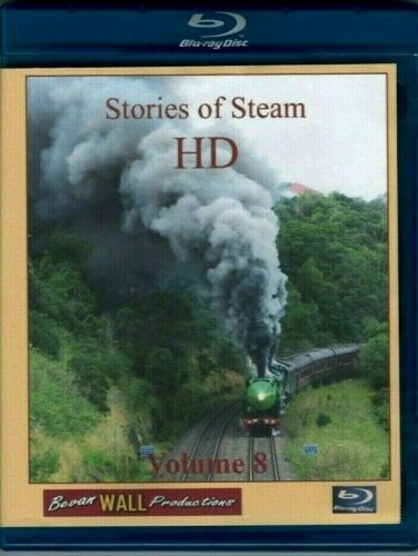 BEVAN WALL PRODUCTIONS - STORIES OF STEAM  HD VOLUME 8 Blu-ray disc