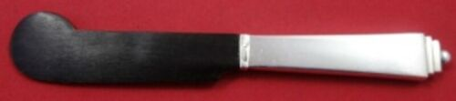 """Pyramid by Georg Jensen Sterling Silver Caviar Knife HH w/ Horn Blade 5 3/4"""""""