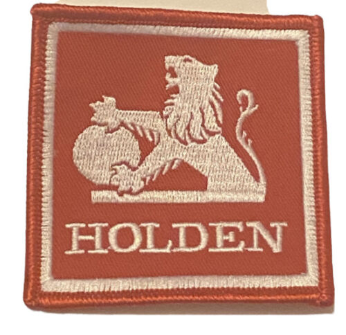 Holden embroidered patch