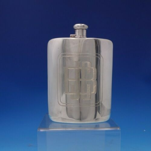 Faneuil by Tiffany and Co Sterling Silver Flask Two Gills #19579/9657 (#5318)
