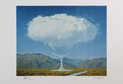 Rene Magritte - Heartstring (lithograph, plate-signed & numbered)