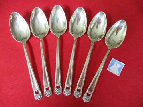 (6) 1847 Rogers Silverplate Tablespoons, 1941 Eternally Yours    #17