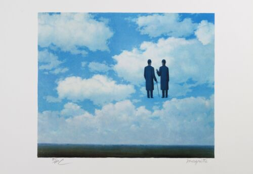 Rene Magritte - The Infinite Recognition (lithograph, plate-signed & numbered)